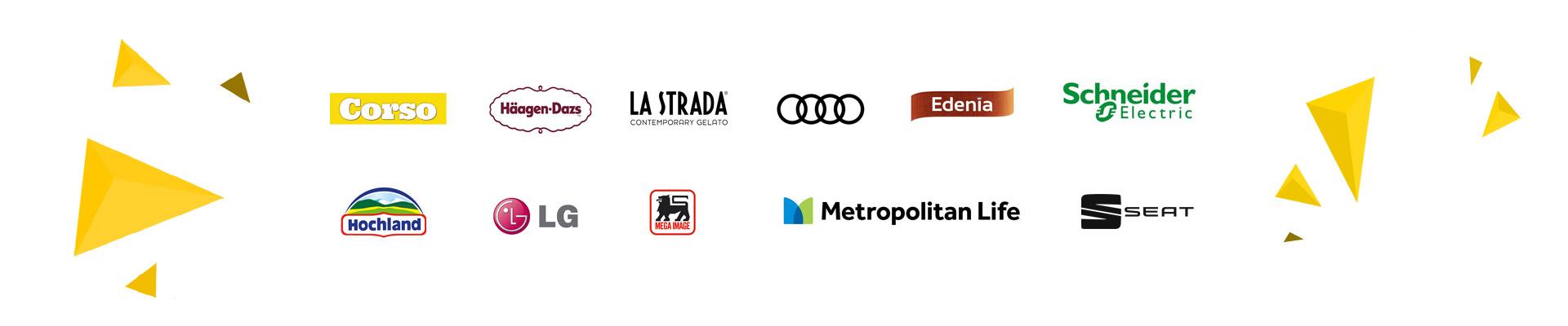 Branduri cu care am lucrat